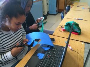 Anson and Tashira use Silhouete Software to create sliceforms!