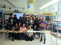 Bridge Builders constructed a Suspension Bridge!