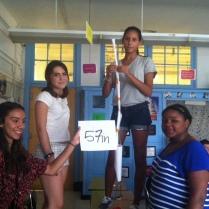 Bridge Builders build paper towers!