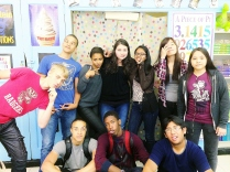 Ms. P's advisory being goofy- senior year 2014